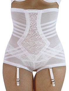 247d2e6f5b720 Rago High Waist Control Brief White 8X    Check this awesome product by  going to