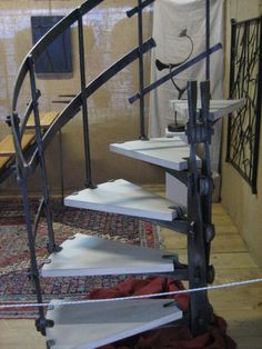 Forged rotating staircase