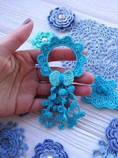 Thread Crochet, Crochet Stitches, Crochet Patterns, Crochet T Shirts, Crochet Gifts, Crochet Sunflower, Crochet Flowers, Crochet Hair Clips, Crochet Hair Accessories