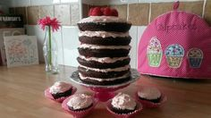 Increadible chocolate and raspberry layer cake......an absolutely delectable experience!!!