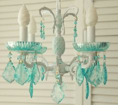 Custom Chandeliers....It's Part Of What We Do At Shabbyfufu