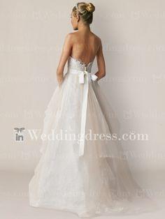 Beach Wedding Dress_Champagne / Light Ivory