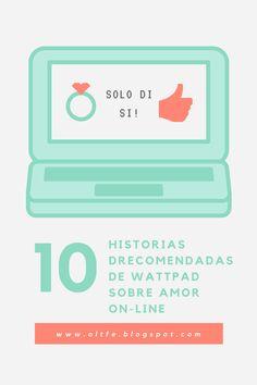#wattpad #romance #blogs #instagram Recomendaciones de historias de amor on-line.