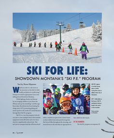 "Skit for Life: Showdown Montana's ""Ski P. Montana, Fields, Physics, Skiing, Photo Wall, Winter, Life, Ski, Photograph"