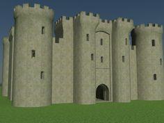 Castle 3d model free