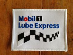 Mobile 1 Lube Express Work Shirt Uniform Patch by HeydayRetroMart, $5.00