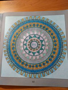 Finished: 1. 1. 2016; Source: Antistresové omalovánky pro dospělé; Medium: Maped Color'Peps, glitter gel pens; FB challenge no. 19 - to colour a picture using glitter gel pens and gold and silver colour (besides other colours)