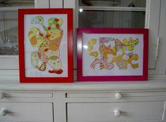 Een gekleurd lijstje om je kleurplaat en je geeft je klas of kamer een persoonlijke stijl. Ook leuk om kado te doen!