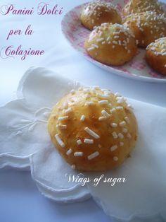 Panini Dolci per la Colazione, Wings of sugar Blog
