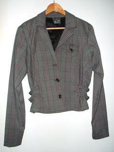 LIP SERVICE Grandpa Plaids jacket #46-401