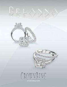 Classic timeless #weddings #diamonds #business @crown_ring www.crownring.com