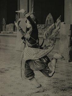 A Dance Performer, Phnom Penh, Cambodia, 1924