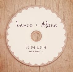 Custom Printed CDs - Artwork / Labels - wedding favors, client photography portfolios, Printed cd/dvd Labels by BrossieBelle on Etsy https://www.etsy.com/listing/205049567/custom-printed-cds-artwork-labels