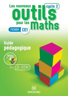 Maths Guidés, Cycle 2, Guided Math, Personal Care, Education, Logos, Math Lessons, Textbook, Index Cards
