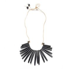 Desert Necklace Ebano, $34, now featured on Fab.