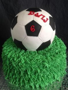 SOCCER BALL CAKE - Cake by TALSCAKES