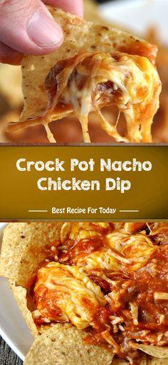 chicken recipe crock nacho best pot dip 005 Crock Pot Nacho Chicken Dip Best Recipe can find Chicken in crock pot and more on our website Crock Pot Recipes, Best Chicken Recipes, Crock Pot Cooking, Slow Cooker Recipes, Cooking Recipes, Easy Recipes, Chicken Nachos, Chicken Dips, Chicken Nacho Dip Recipe
