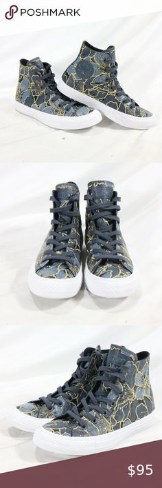 Converse Chuck Taylor All Star Hi Rise Rubber Boot Yellow Rain Shoes Womens US 7