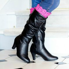 Vintage Inspired Boot Cuffs