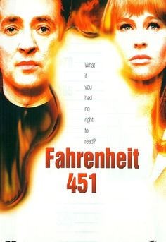 Fahrenheit 451 - Movie Poster