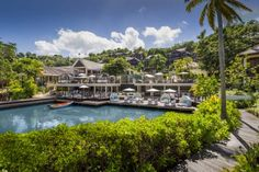 Capella Marigot Bay, St. Lucia Marigot (St. Lucia) Set on the Marigot Bay of Saint Lucia, this hotel is located on one of the most exclusive yachting destinations of the Caribbean.