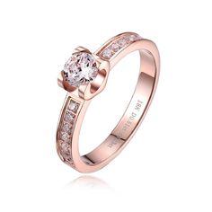 Trends For > Rose Gold Wedding Rings For Women