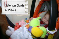 Using Car Seats on Planes