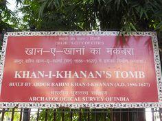 Rahim's Tomb, New Delhi http://travelerrohan.blogspot.in/ #ttot