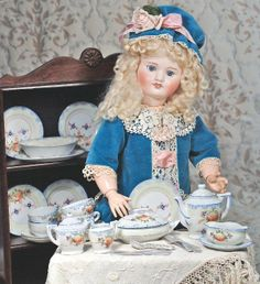 Antique Doll. French Bisque Doll By S.F.B.J.