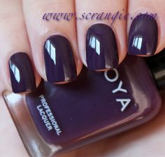 Scrangie: Zoya Designer Collection Fall 2012 Swatches and Review - Zoya Nail Polish in Monica