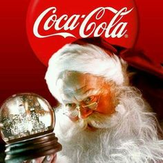 The best Santa was from Coca-Cola.