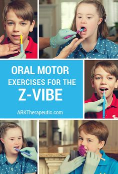 """Oral motor therapy works on the oral skills necessary for proper speech and feeding development. For example, try saying """"la la la"""" right now, paying attention to what your tongue is doing. In order to produce the /l/ sound, the tongue tip must elevate to the alveolar ridge (just behind the upper front teeth). It must also be able to function independently – or dissociate – from the jaw. Oral motor therapy works on these """"pre-requisites"""" for speech and feeding."""