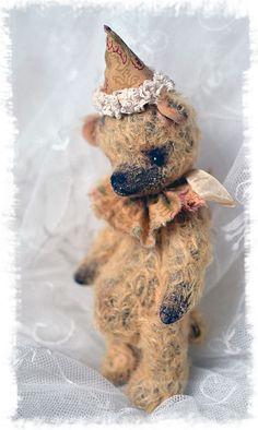 OOAK ARTIST bear JACOB teddy bear vintage original toy 99$