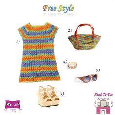 Kat Rose Fashion Head To Toe: Free Style