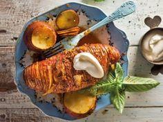 Waaierpatats Recipies, Yummy Food, Healthy Recipes, Kos, Heart, Recipes, Delicious Food, Rezepte, Healthy Eating Recipes