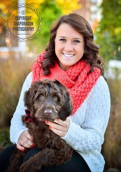 Senior girl with dog photography ©snapdragon photography