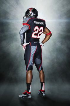 Texas Tech Uniforms Wounded Warrior Project - I dont really like football but i really like this concept