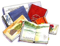 Draw something every day. So I journal.   http://cathyjohnsonart.blogspot.com/2014/09/a-creativity-giveaway-for-you.html