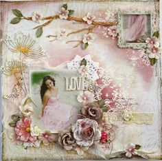 Scrapbook page made by Gabrielle Pollacco for The Scrapbook Diaries Kits (kit as well as a step by step video tutorial is available from The Scrapbook Diaries Website) #Gabrielle Pollacco #The Scrapbook Diaries Kits #Video Tutorial  #Mixed Media