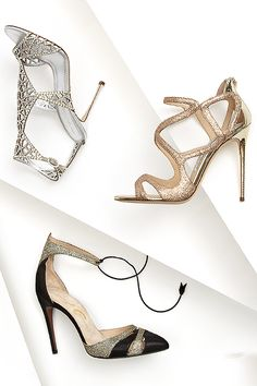 With all your fancy holiday fêtes coming up make sure you have a fabulous heel to dance the night away like #JimmyChoo #ValentinaCarrano #SergioRossi and more #10022shoe
