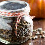 maple roasted pumpkin seeds - Jelly Toast