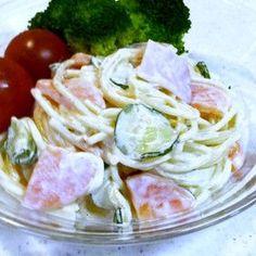 時間がたってもなめらか♪スパサラ♪ by chyaaki [クックパッド] 簡単おいしいみんなのレシピが265万品