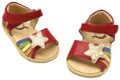 Nova Red Toddler  Watch out girls. Rainbows and sparkly shooting stars. Need we say more?