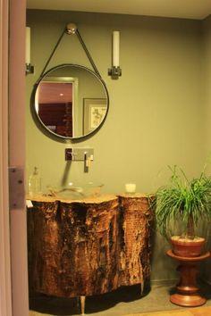 fascinating bathroom vanity decor   Bathroom Inspiration on Pinterest   Bathroom, Tile and Tubs