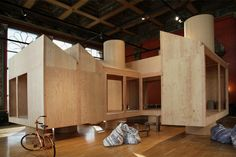 chicago architecture biennial 2015 MOS architects no.11 corridor house designboom