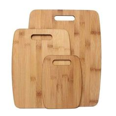 Constructed from Eco-friendly bamboo, this cutting board set is right at home in a highly active kitchen. These all-purpose cutting boards are ideal for all food prep, presentation and serving. The durable surface is safe for high-performance Cutting Board Material, Large Cutting Board, Bamboo Cutting Board, Plastic Cutting Board, Cutting Boards, Zillow Homes, Beach Bbq, Space Saving Storage, Black Stainless Steel