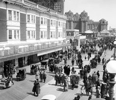 Image result for Atlantic City Boardwalk 1920