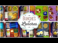 7cdcc0f83c36 10 Best Bunches of Lunches images in 2018 | Lunch, School lunch ...