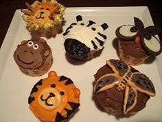 Cupcakes based on Betty Crocker ideas. (Link to video tutorial.)
