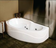 Lyons sea wave iv whirlpool corner bathtub for the home for Lyons whirlpool tub
